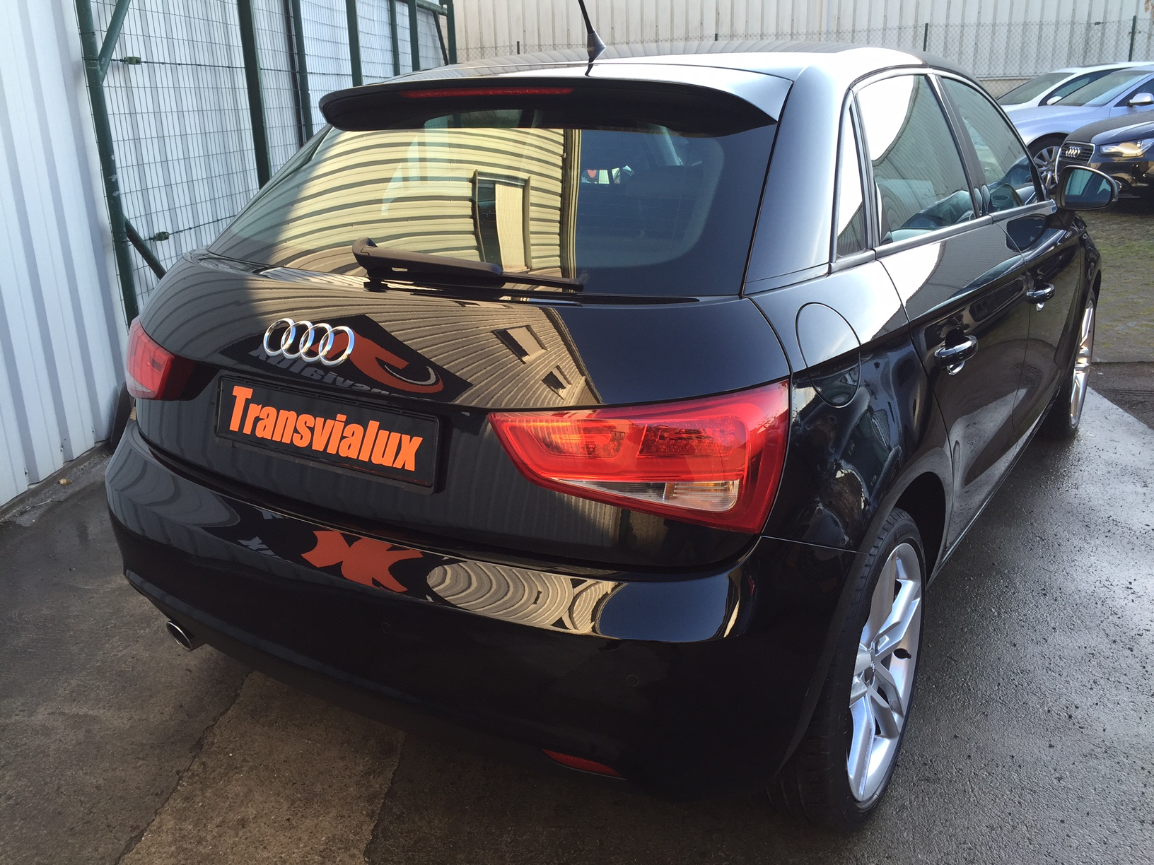audi a1 sportback 1 6 tdi 105 ambition luxe transvialux. Black Bedroom Furniture Sets. Home Design Ideas